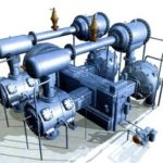 Piston compressors and spare parts for them