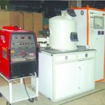 Installation for arc welding in a controlled environment model: USKS-26