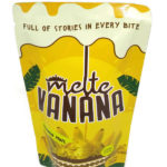 Banana chips with cheese flavor MELTE VANANA