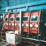 Installation for manual arc welding in a controlled atmosphere model: USKS-21