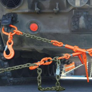 Service braces for wheel and caterpillar tracks. equipment from 14t. up to 45t.