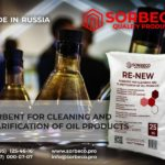 Sorbent for clarification and purification of oil products RE-NEW