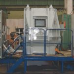 Installation for welding in a controlled environment model: USKS-25