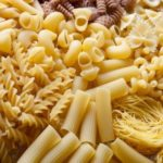 Pasta made of durum and soft wheat flour