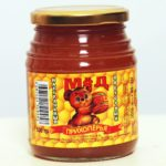 Natural honey (packaged and by weight) from a farm