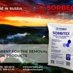 Sorbent for the removal of oil products SORBITEX