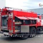 Fire-fighting tanker with foam injection by compression method AC-SPK-3,0-40 (5557)