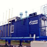 Installations for the preparation of fuel, starting and impulse gas (UPTPIG)